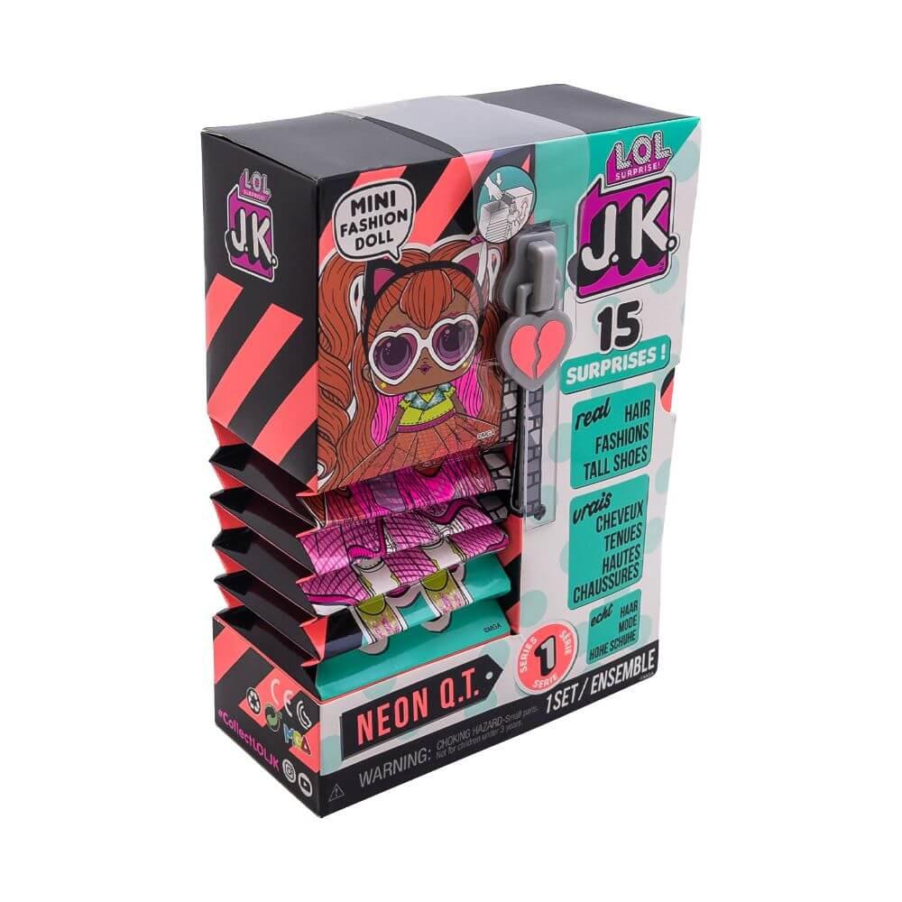 Кукла LOL Surprise Mini Fashion Doll (Мини модницы) JK Neon Q.T. с 15 сюрпризами - 2